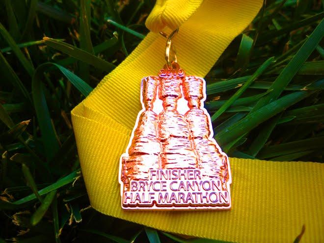 Bryce Canyon Half Marathon Medal