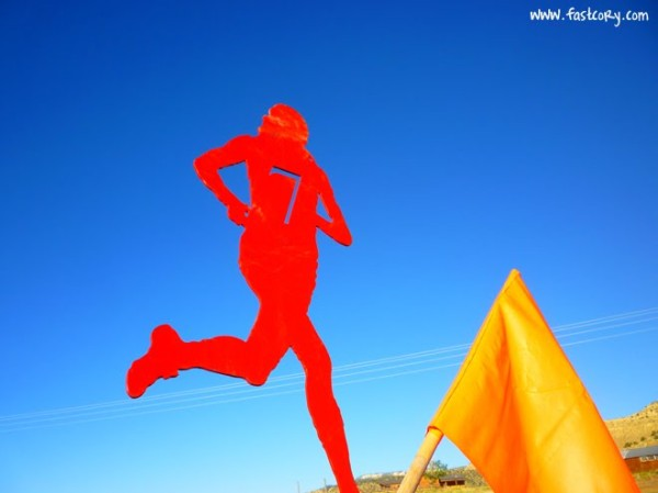 Bryce Canyon Half Marathon mile marker