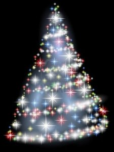 7548648-bright-christmas-tree-with-stars-over-black