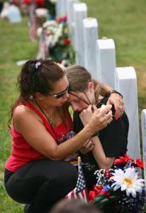 Bush, Families Mark Memorial Day At Arlington National Cemetery