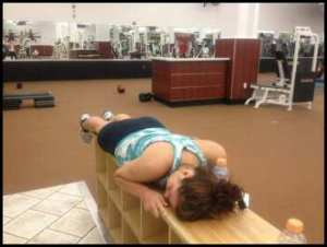 sleeping-at-gym