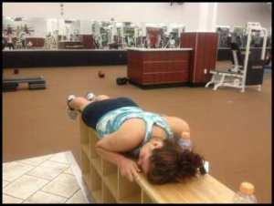 sleeping-at-gym